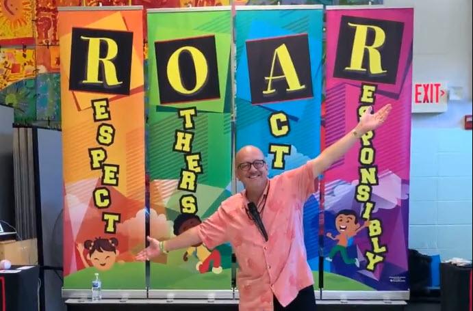 Al the Respect Guy in The ROAR Show Hawaii