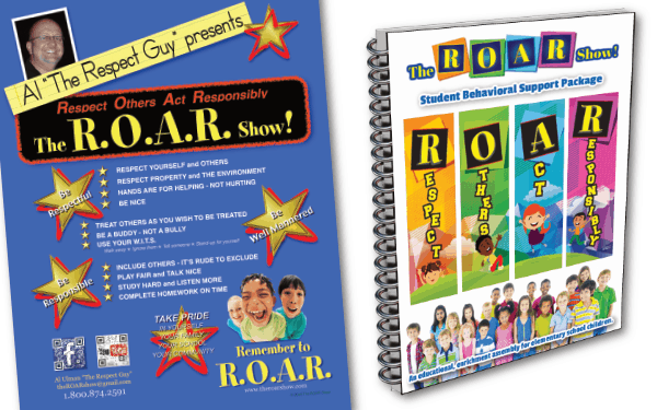 ROAR Show Posters & Support Materials